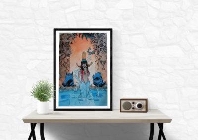 Lanfeust de Troy – Tableau Illustration