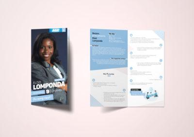 Leaflet campagne politique