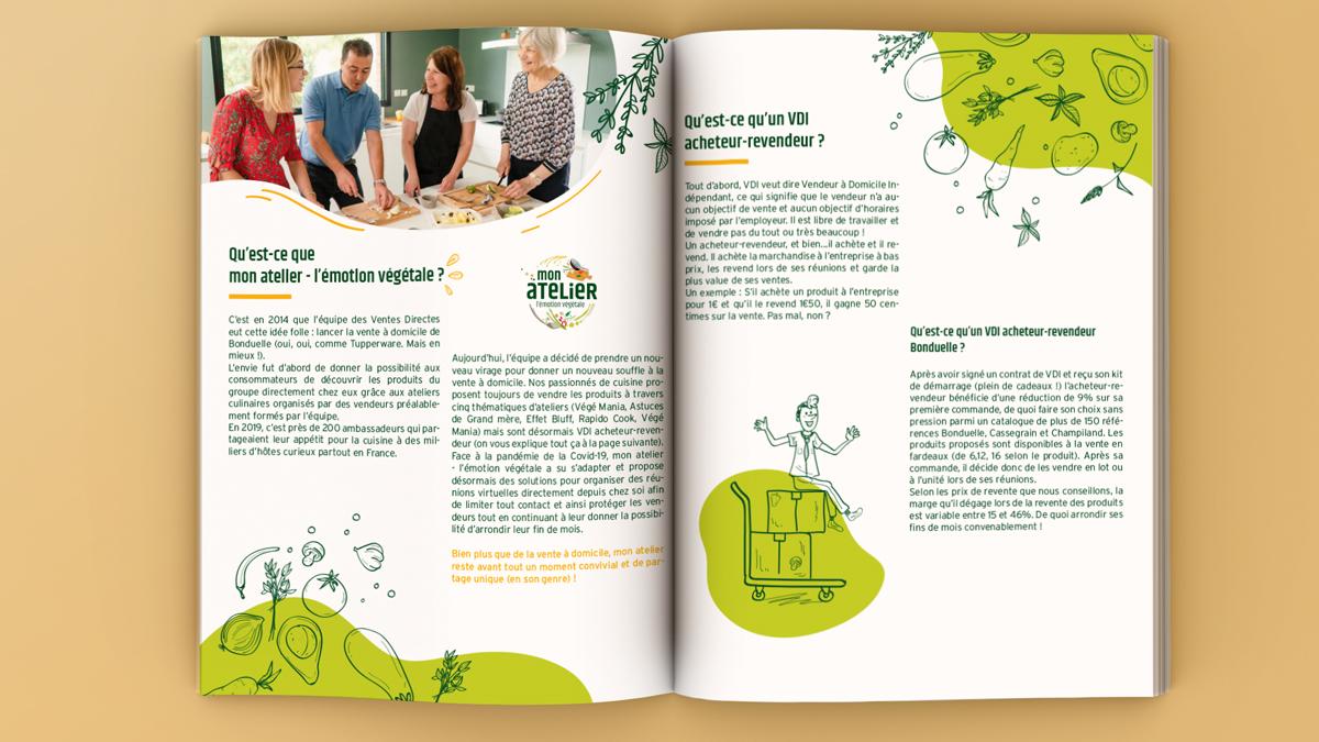 bonduelle atelier emotion vegetale - magazine numerique