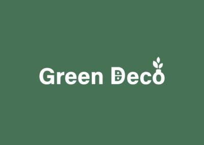 Green Deco : webdesign et identité visuelle